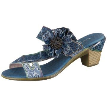 Laura Vita Komfort Sandale blau