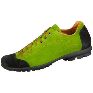 Think Sportlicher Schnürschuh grün