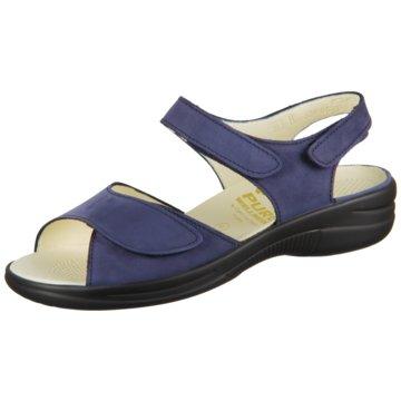 Christian Dietz Komfort Sandale blau