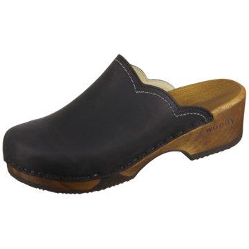 Woody Clog schwarz