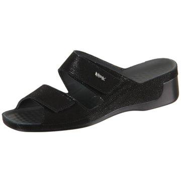 Vital Komfort Pantolette schwarz