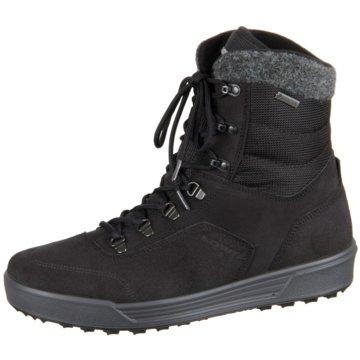 LOWA Komfort Stiefel schwarz