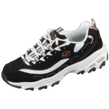 Skechers Sneaker LowD Lites Devoted Fan schwarz