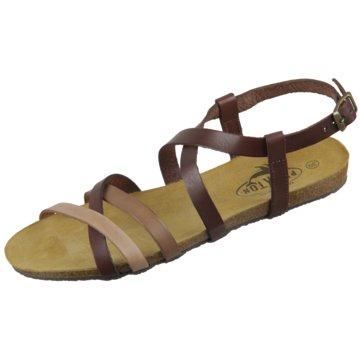 Plakton Sandale braun