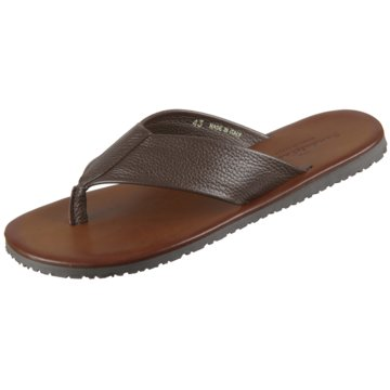 The Sandals Factory Zehentrenner braun