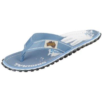 Gumbies Bade-Zehentrenner blau