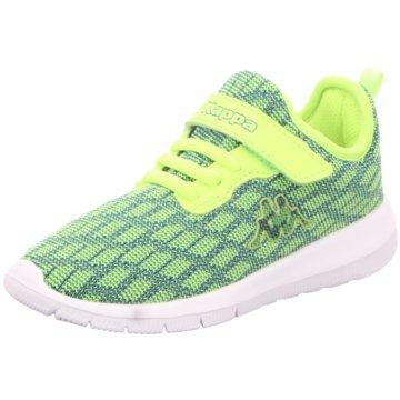 Kappa Sneaker Low gelb