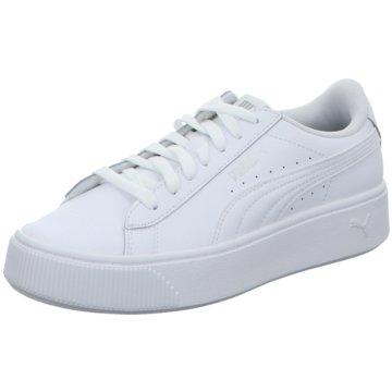 Puma Sneaker LowVikky Stacked L Women weiß