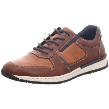 Rieker Komfort SchnürschuhSneaker braun
