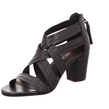 Red BOXX Komfort Sandale schwarz