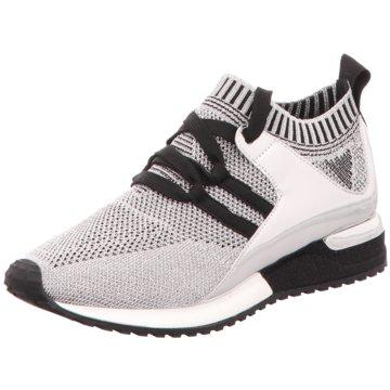 La Strada SneakerKnitted Sneaker grau