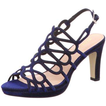 Menbur Sandalette blau