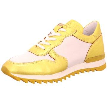 MACA Kitzbühel Sportlicher Schnürschuh gelb