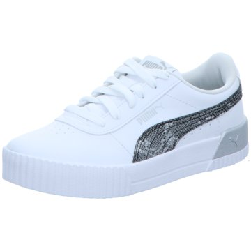 Puma Sneaker LowCarina Untamed Women weiß