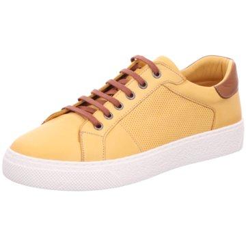 BOXX Sportlicher Schnürschuh gelb