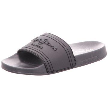 Pepe Jeans Badelatsche schwarz