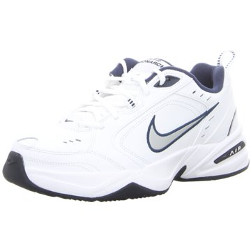 Nike AIR MONARCH IV,WHITE/METALLIC SILVE