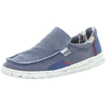 Hey Dude Shoes Mokassin SlipperMikka blau