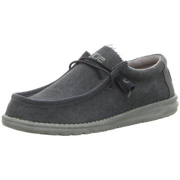 Hey Dude Shoes Mokassin SchnürschuhWally Classic blau