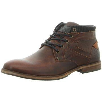 Shoe Colour Schnürstiefelette braun