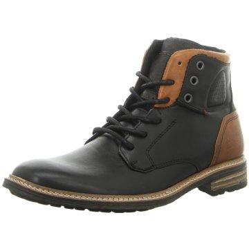 Shoe Colour Schnürstiefelette schwarz