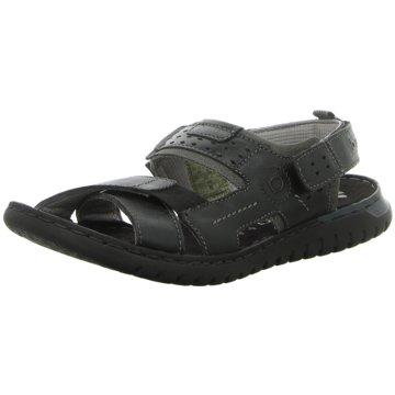 Bugatti Komfort Sandale schwarz