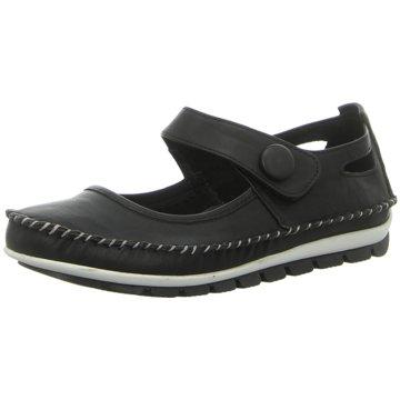 Gemini Komfort Slipper schwarz