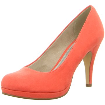 Tamaris Plateau Pumps coral