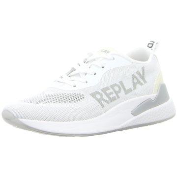 Replay SneakerBotanic weiß