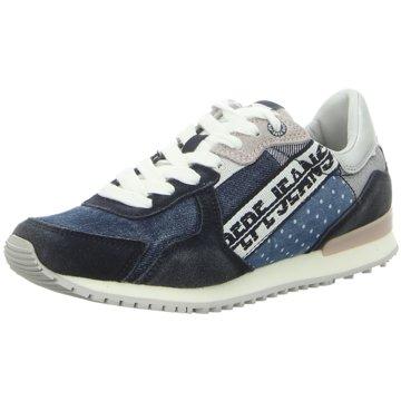 Pepe Jeans Sneaker LowTinker Denim Tape blau