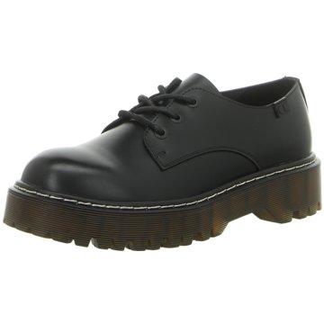 Coolway Top Trends Schnürschuhe schwarz