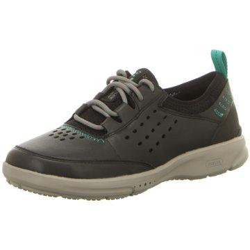 Rockport Sportlicher Schnürschuh schwarz