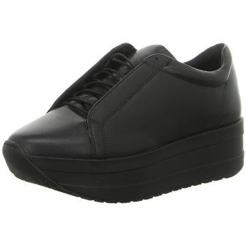 Vagabond Plateau Sneaker schwarz