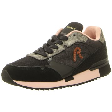 Replay Sneaker Low schwarz