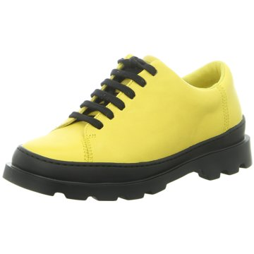 Camper Klassischer Schnürschuh gelb