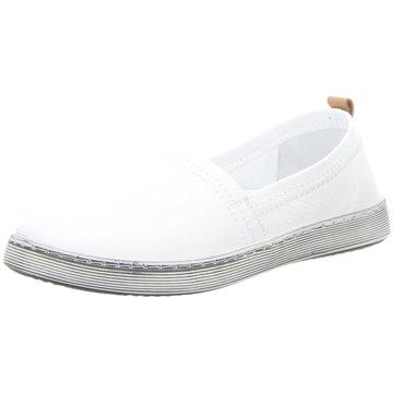 Andrea Conti Sportlicher Slipper weiß