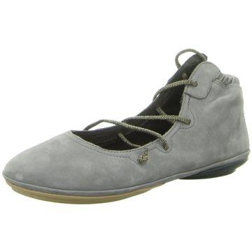 Camper Komfort Schnürschuh grau
