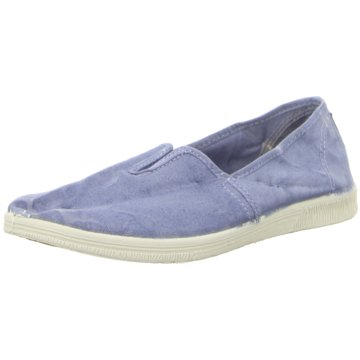 Natural World Eco Klassischer Slipper blau