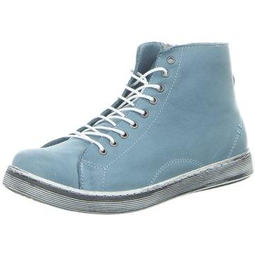 Andrea Conti Komfort Stiefelette blau