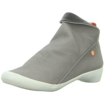 Softinos Komfort Stiefelette grau
