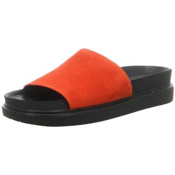Vagabond Plateau Pantolette orange