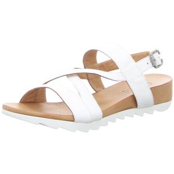 MACA Kitzbühel Komfort Sandale weiß