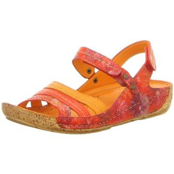 Gemini Komfort Sandale orange