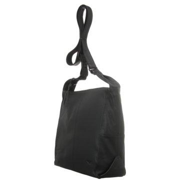 Voi Leather Design Taschen DamenUmhängetasche schwarz