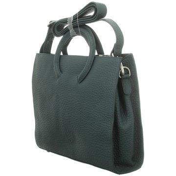 Voi Leather Design Taschen DamenKurzfrifftasche grün
