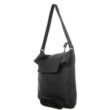 Voi Leather Design Taschen DamenBeutel schwarz