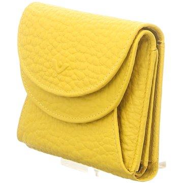 Voi Leather Design Taschen DamenWienerschachtel gelb
