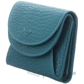 Voi Leather Design Geldbörsen & EtuisWienerschachtel blau