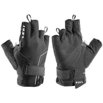 Leki FingerhandschuheNORDIC BREEZE SHARK SHORT - 649703301 schwarz