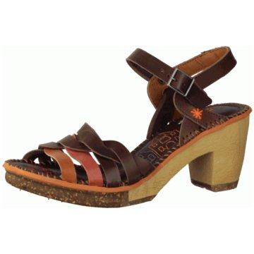 art Komfort Sandale braun